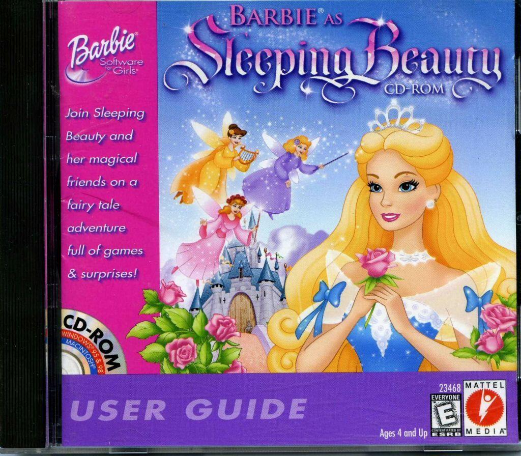 Stupendous 109 10964 Barbie As Sleeping Beauty Video Game Barbie Dolls Hairstyles For Men Maxibearus
