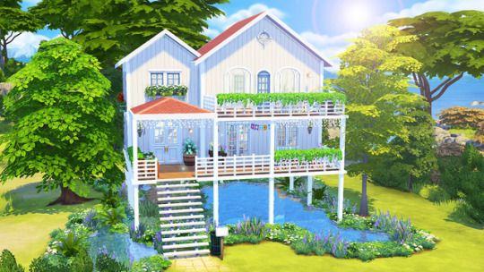 Pin by &&hannah✨ on sims 4 cc | Sims 4 houses, Sims 4