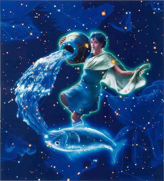 水瓶座 イラスト 綺麗 Google 検索 Art2019 Anime Zodiac