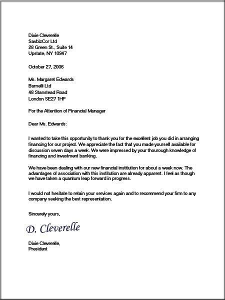 About Formal Business Letters  Miscellenia    Formal