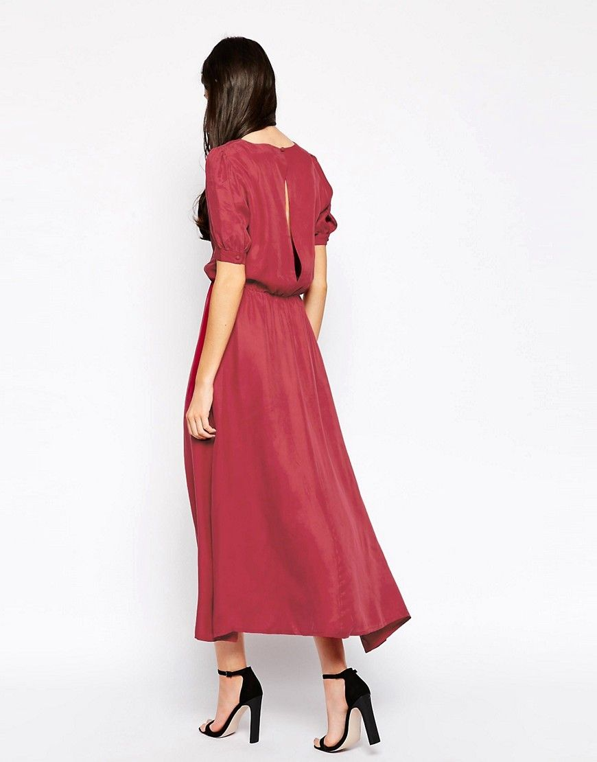 3 4 red dress ukulele   Beautiful dresses   Pinterest
