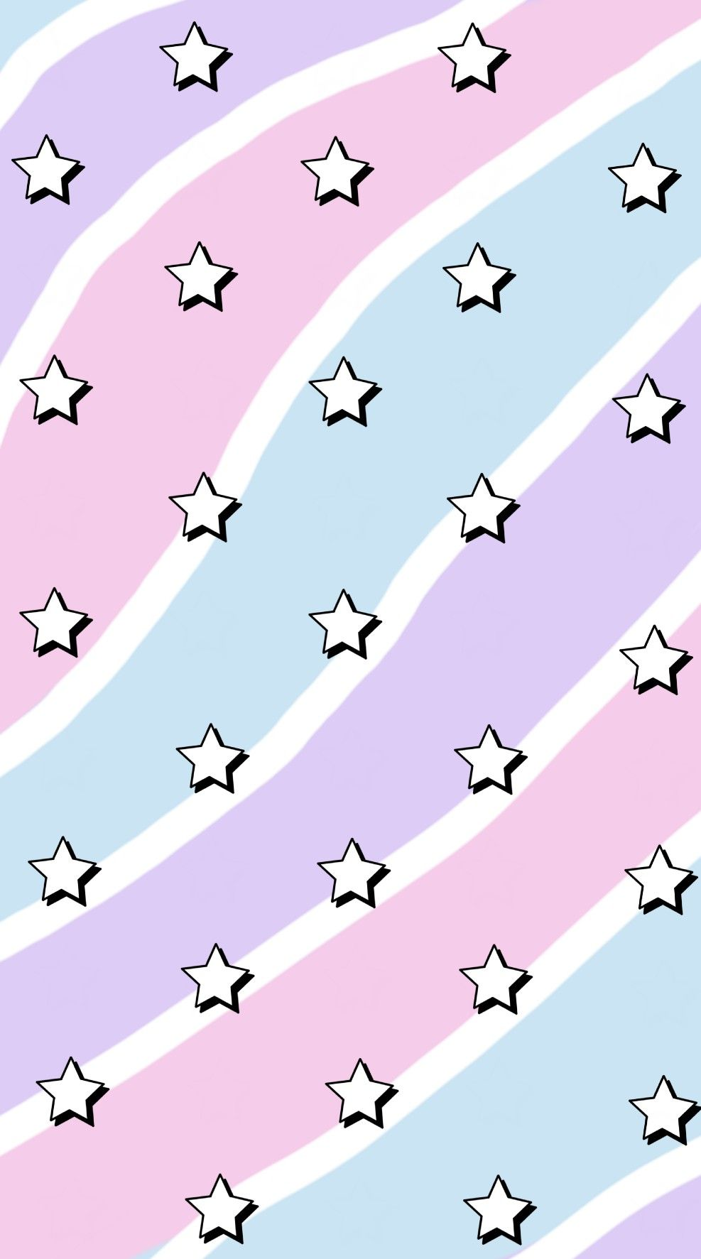 Simple Aesthetic Stars Phone Wallpaper Madewithpicsart Iconic Wallpaper Cute Patterns Wallpaper Edgy Wallpaper