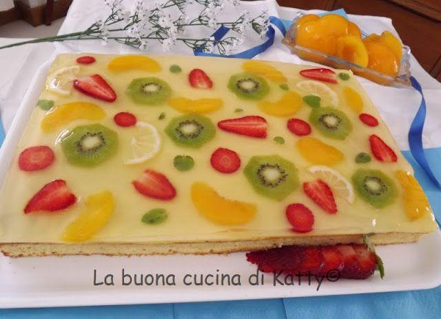 La buona cucina di katty torta decoupage di frutta my - La cucina di sara torte ...