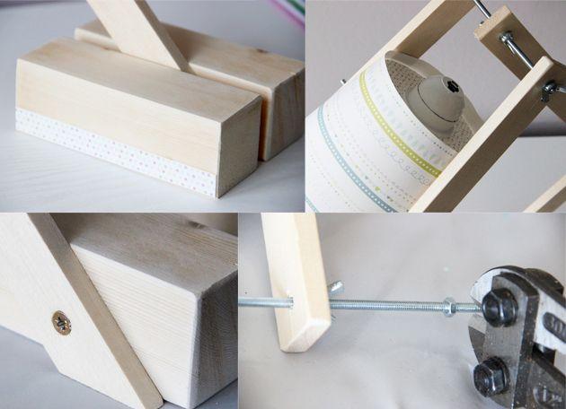 Comment fabriquer une lampe de bureau ? Dips - comment construire sa maison soi meme