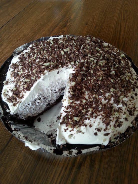 Minze Schokolade und Oreo Pie   - Pies -