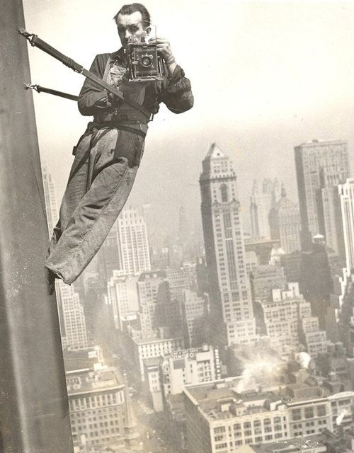 1936 Empire State Window Washer Cameraman