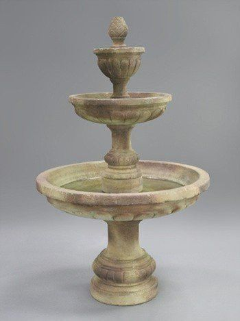 Mediterranean Tiered Outdoor Water Fountain | Outdoor Water Fountains, Water  Fountains And Fountain