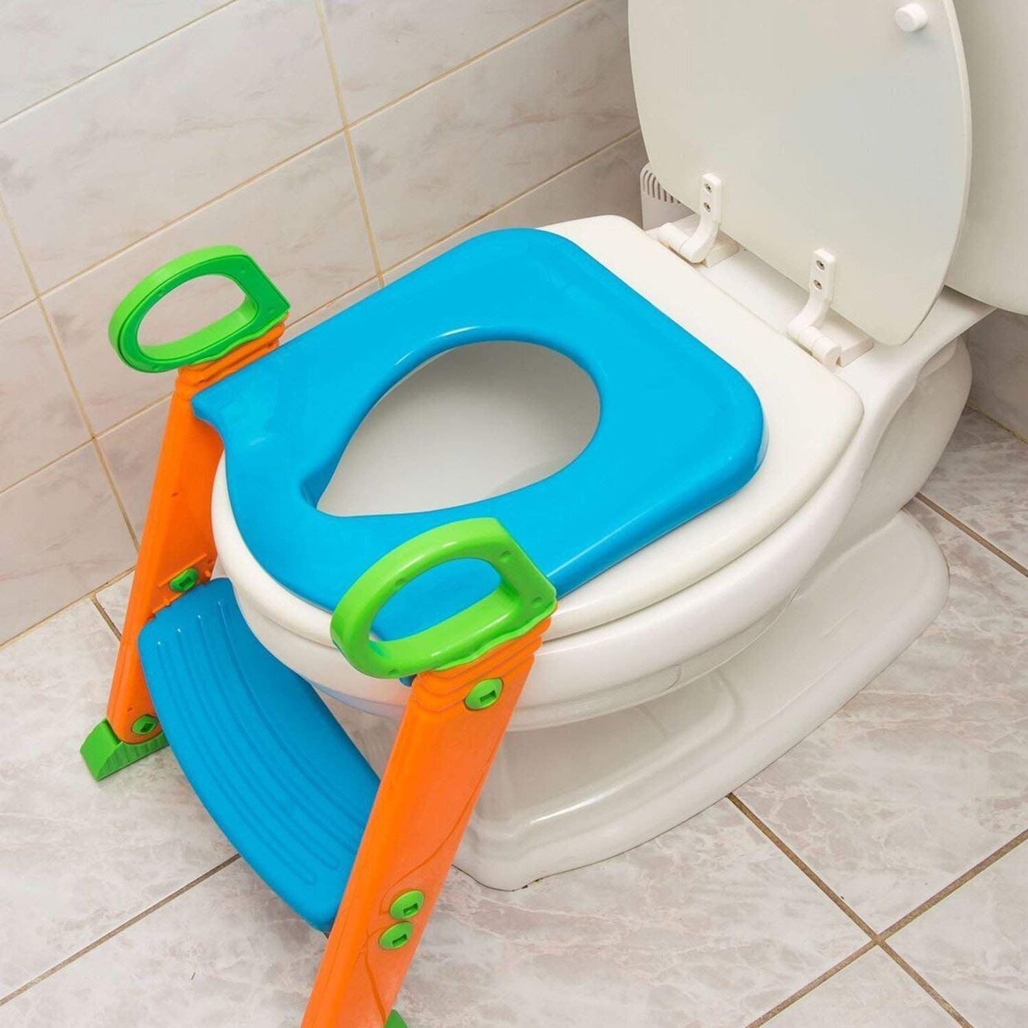 Potty Toilet Seat With Step Stool Ladder 3 In 1 Trainer For Kids