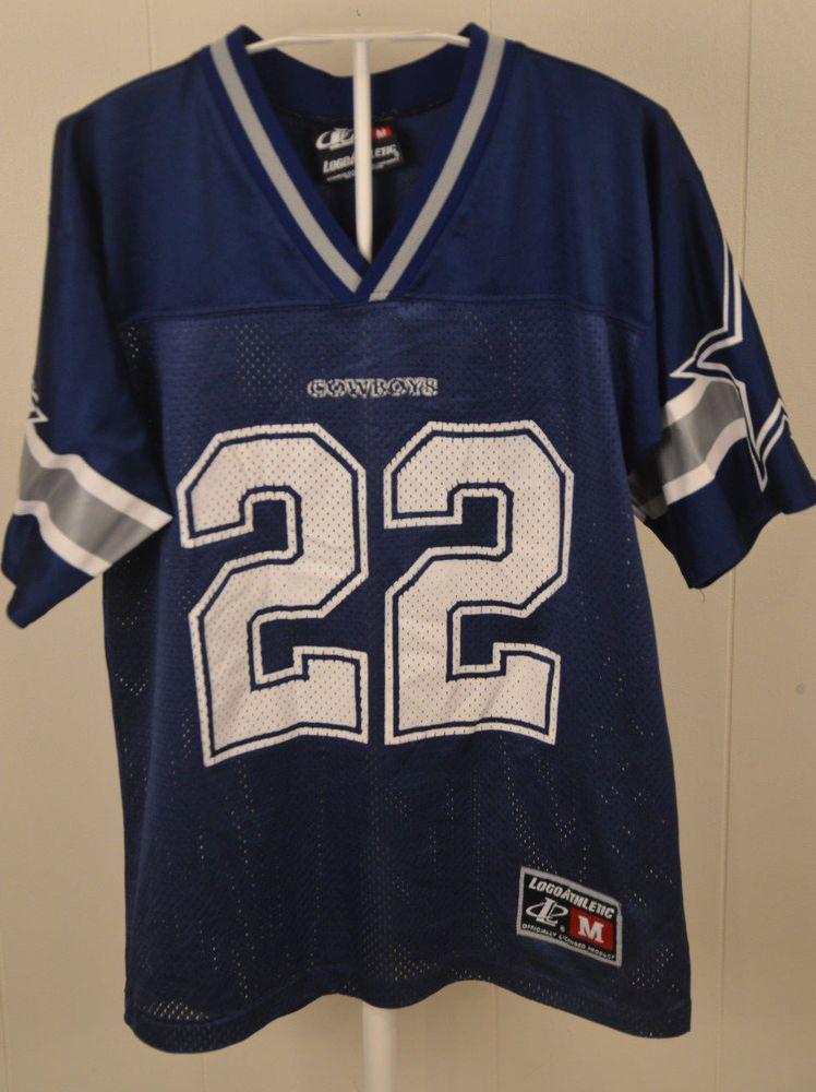 reputable site 940af 9e0f8 LogoAthletic Dallas Cowboys Jersey #22 Emmitt Smith NFL ...