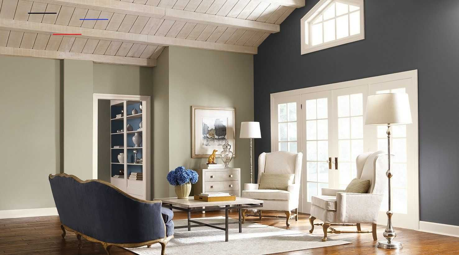 Livingroompaintcolorideas I 2020 #painting #one #wall #a #different #color #living #room
