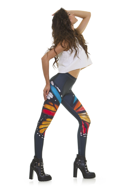 Leggings diseño exclusivo fabricado en España Modelo VOLVORETA www.legx.es