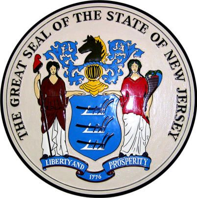 State Seal Jersey Girl Pinterest Jersey Girl And Park