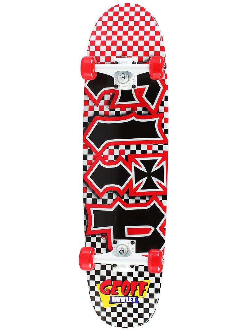 Flip Geoff Rowley Fast Times Complete Skateboard 99 99 Rowley Skateboard Skateboards