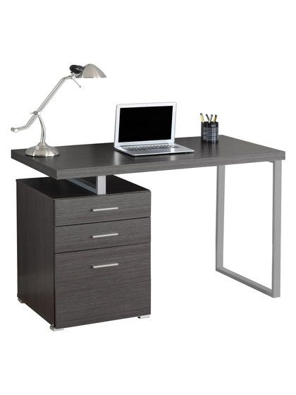 left or right facing computer desk | new home office | pinterest