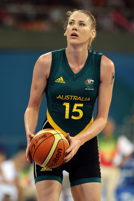 Australian Olympic Female Basketball Player Lauren Jackson