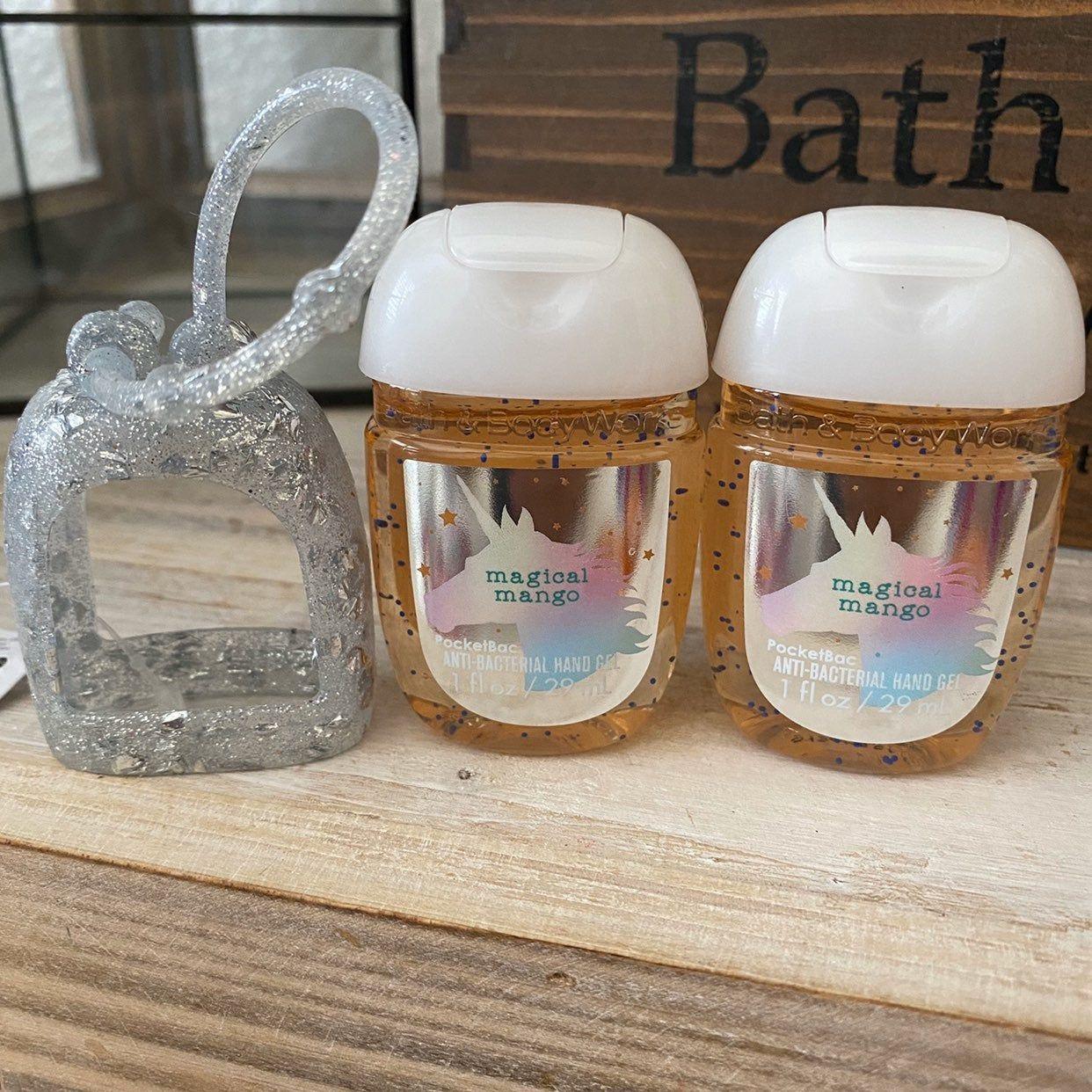 Bath Body Works Pocketbac Set Glittered Silicone Pocketbac