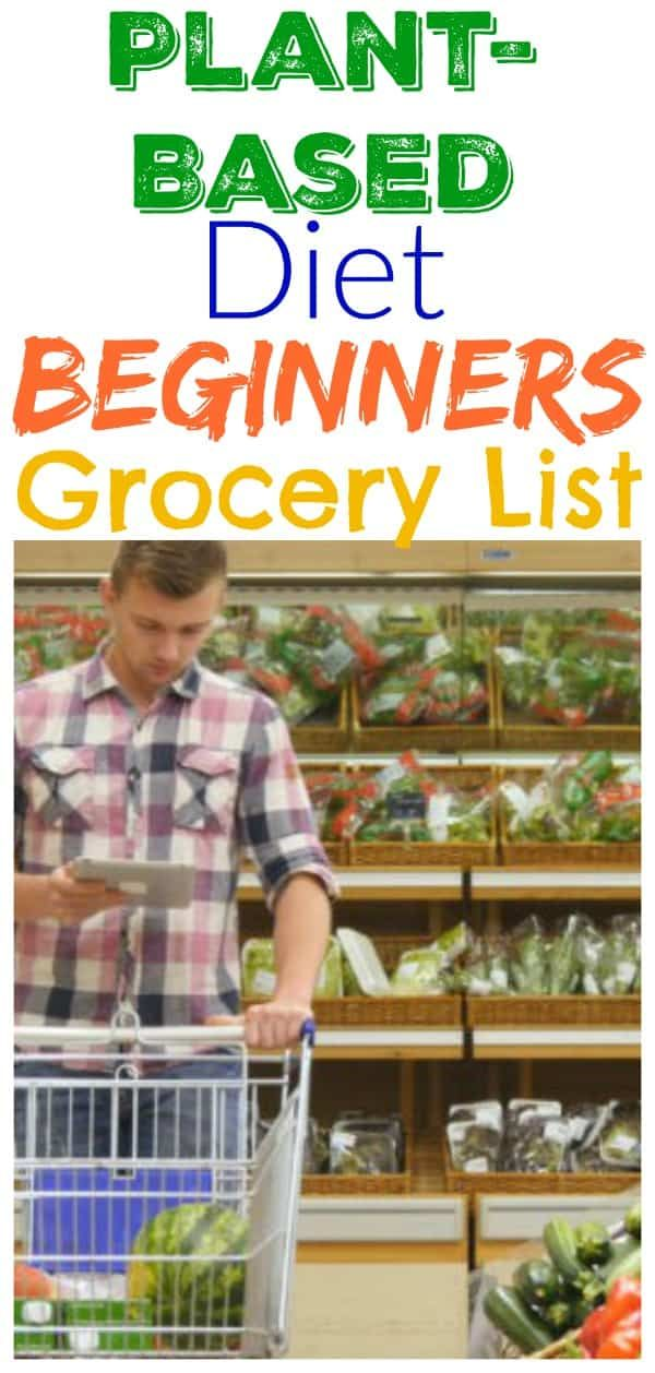 Beginners Guide to Plant-Based Grocery Shopping #plantbasedrecipesforbeginners