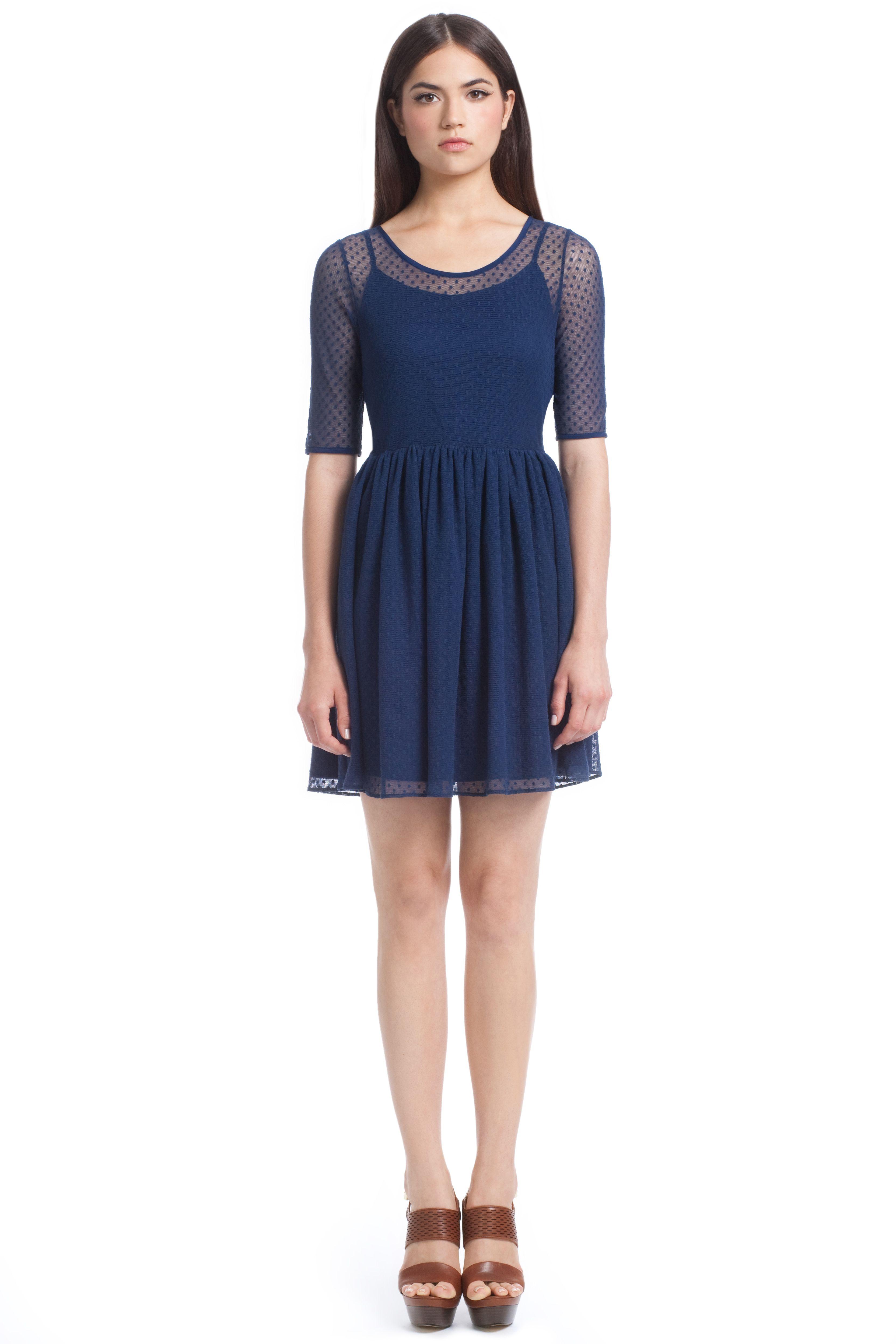 Point D'Espirit Lace Felicity Dress