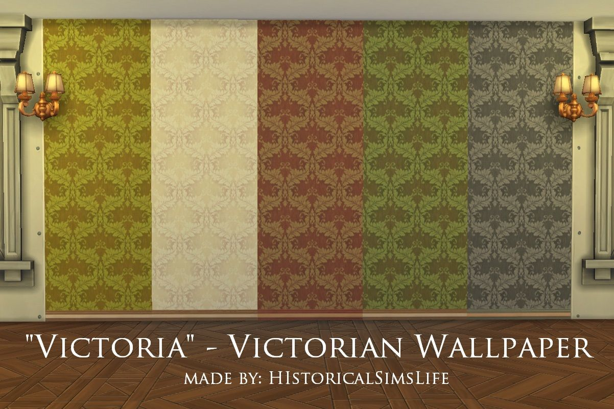 Sims 4 image by Susan Sedia Victorian wallpaper