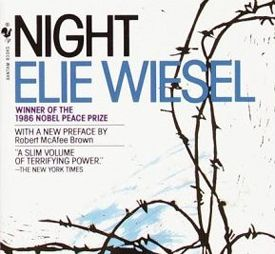 night by elie wiesel point of view In night by elie wiesel, how does elie's view of his religion, his father, and the world change during his time at the nazi prison camps print print document pdf.