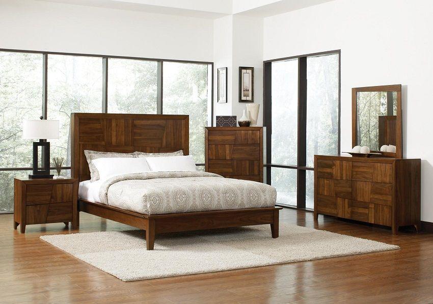 Contemporary Bedroom Set Orange County, Platform Bed ...