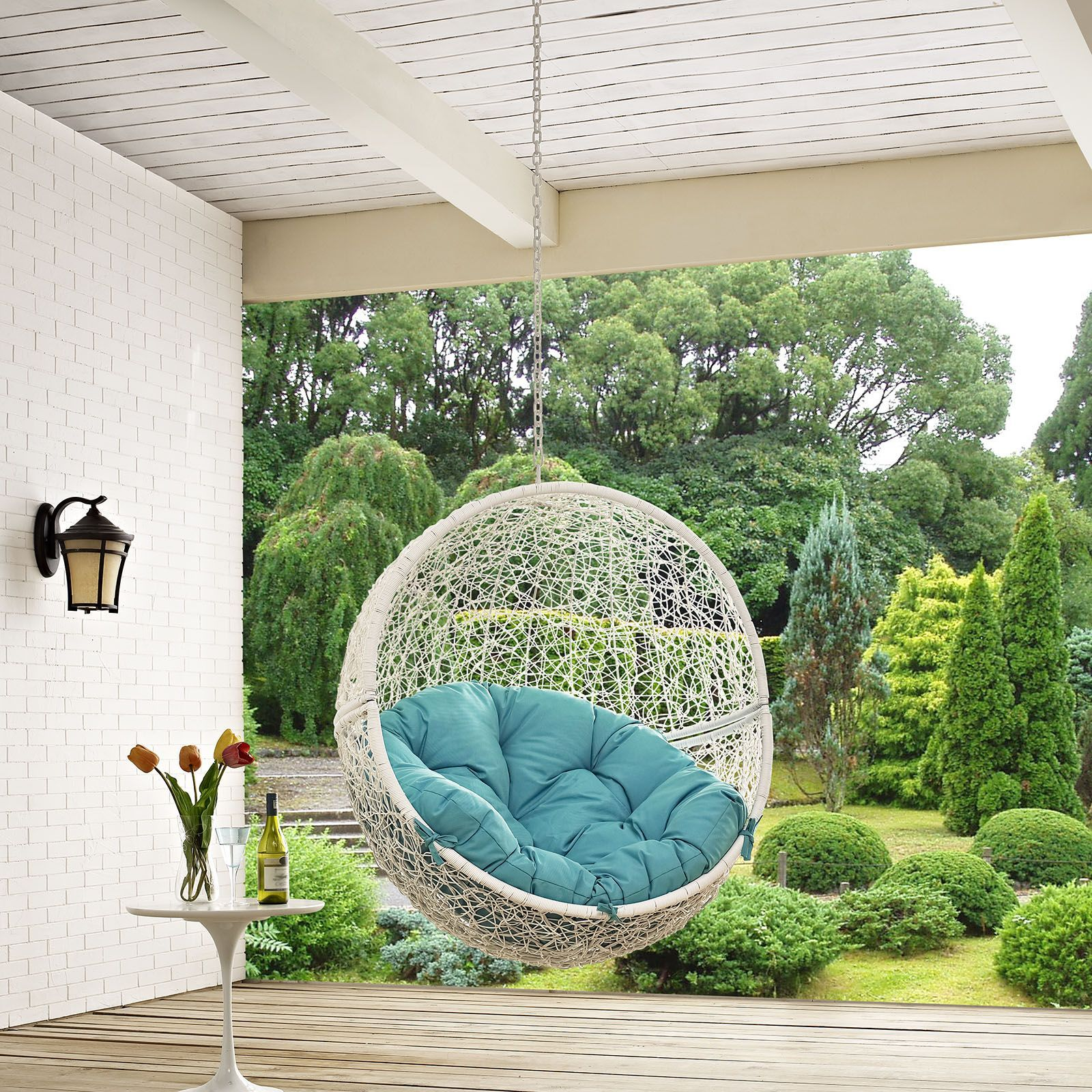 Hide outdoor patio swing chair without stand outdoor patio swing