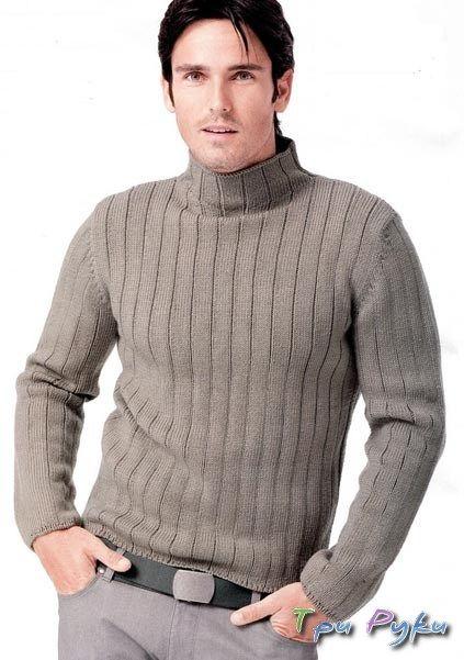 Джемпер | вязание для мужчин | Cashmere sweater men, Knit ...