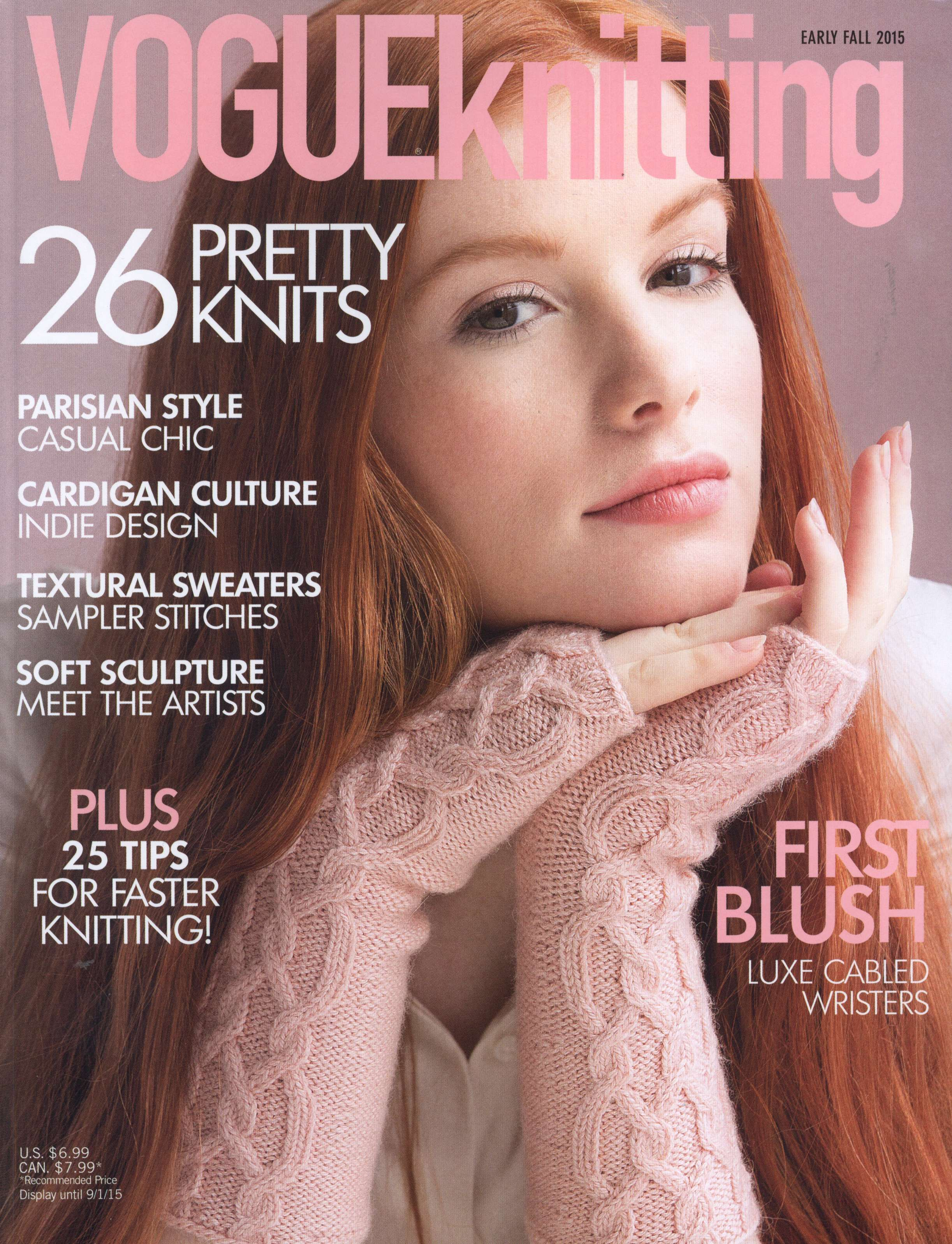 Vogue knitting Early Fall 2015 Dl