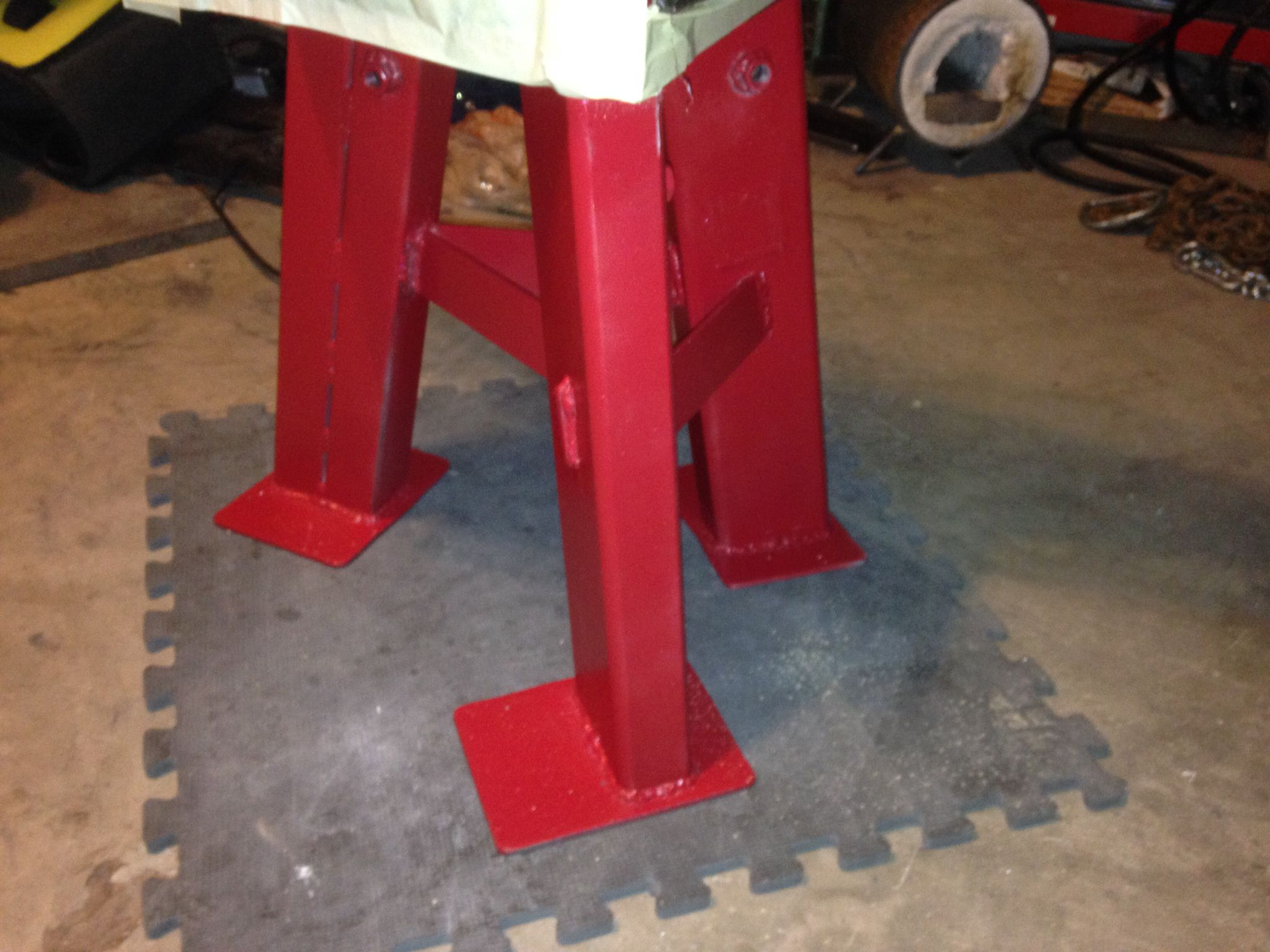 Anvil stand for JHM Competitor anvil, 260 pounds  | Iron Shepherd