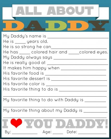 graphic about All About My Dad Free Printable known as All Around Daddy Printable Gifting Fathers working day printable