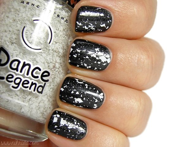 Dance Legend Nail Polish in Aztec no. 4 over ManGlaze in Matte is ...