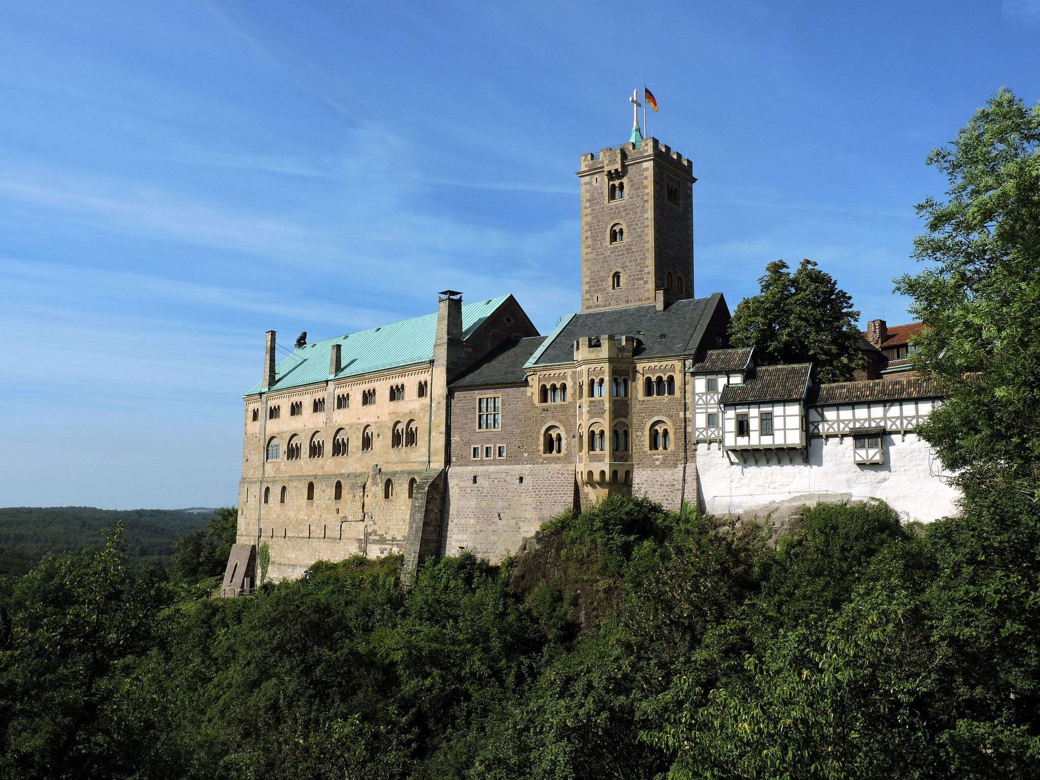 Wartburg Castle Germany House Styles Germany Castle