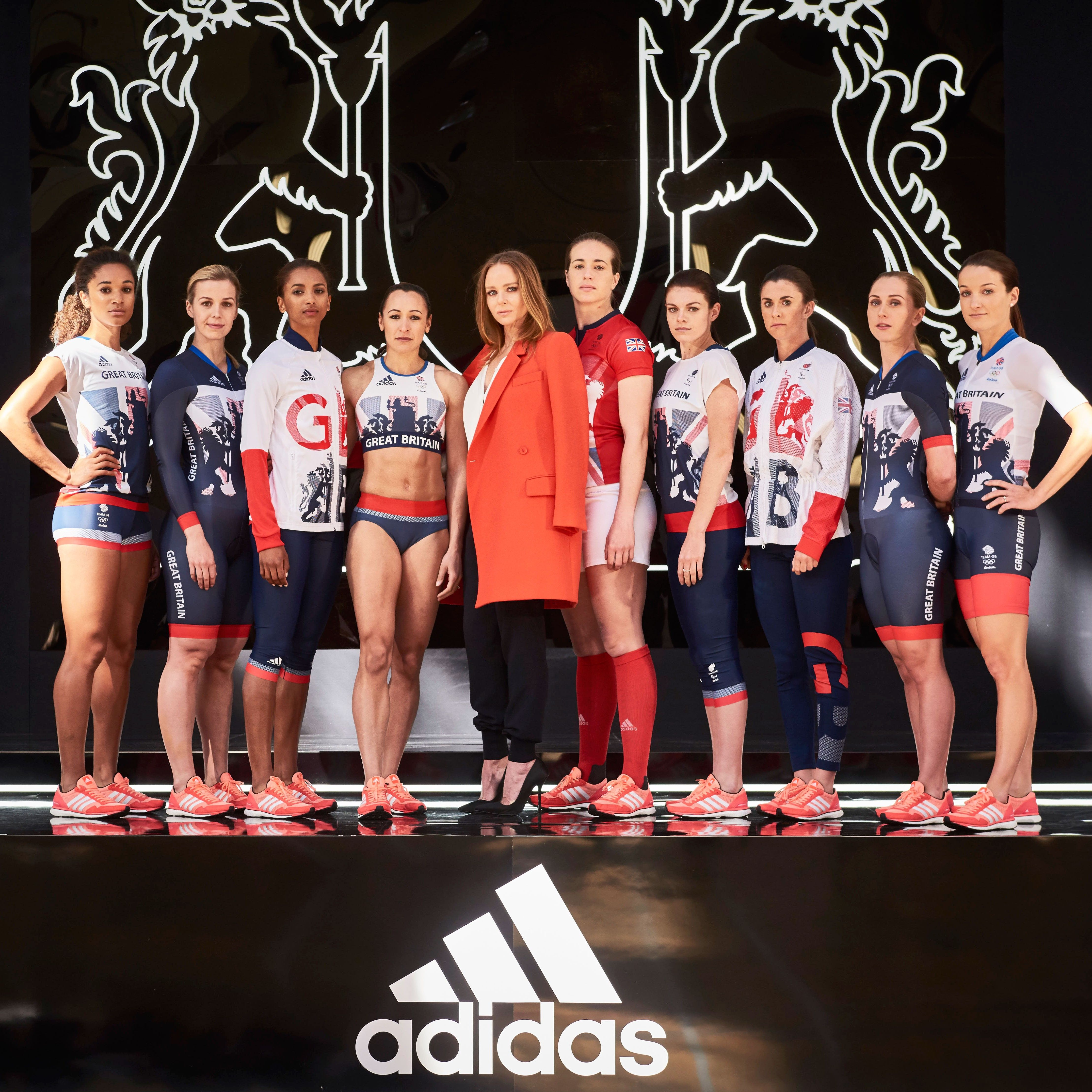 Mccartney stella debuts team gb olympic collection