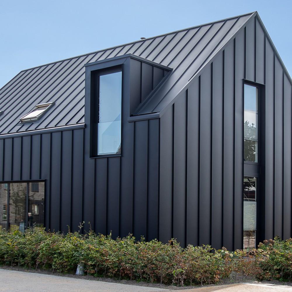 New Build Residential Waalwijk Boyke Kooijmans In 2020 Modern Farmhouse Exterior House Cladding Facade House