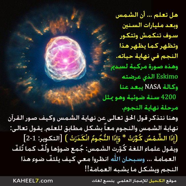 سبحان الله Quran Miracles Of Quran Islam Beliefs