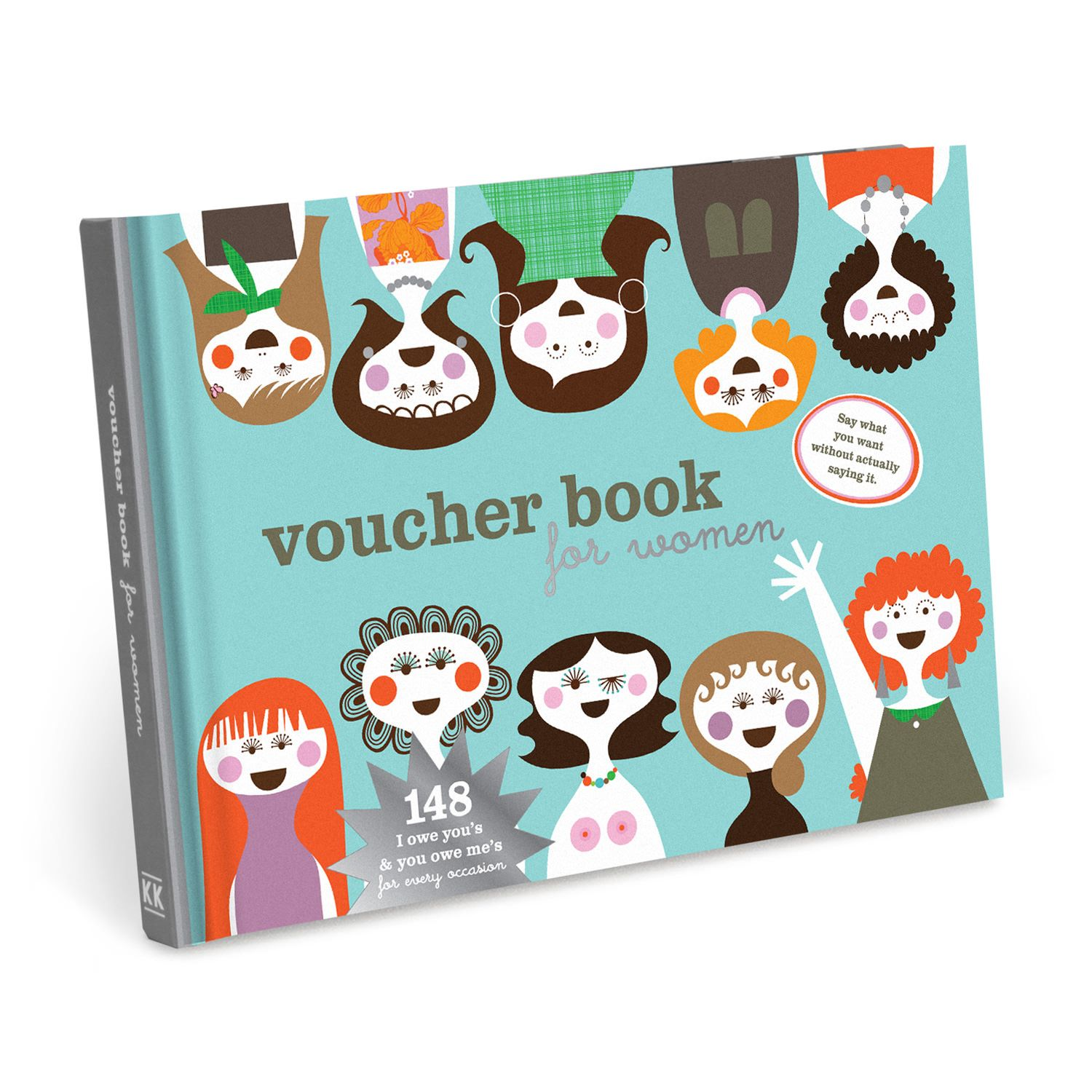 knock knock vouchers for women is a cheeky coupon book of ious and you owe mes for partners friends family good gift for friends