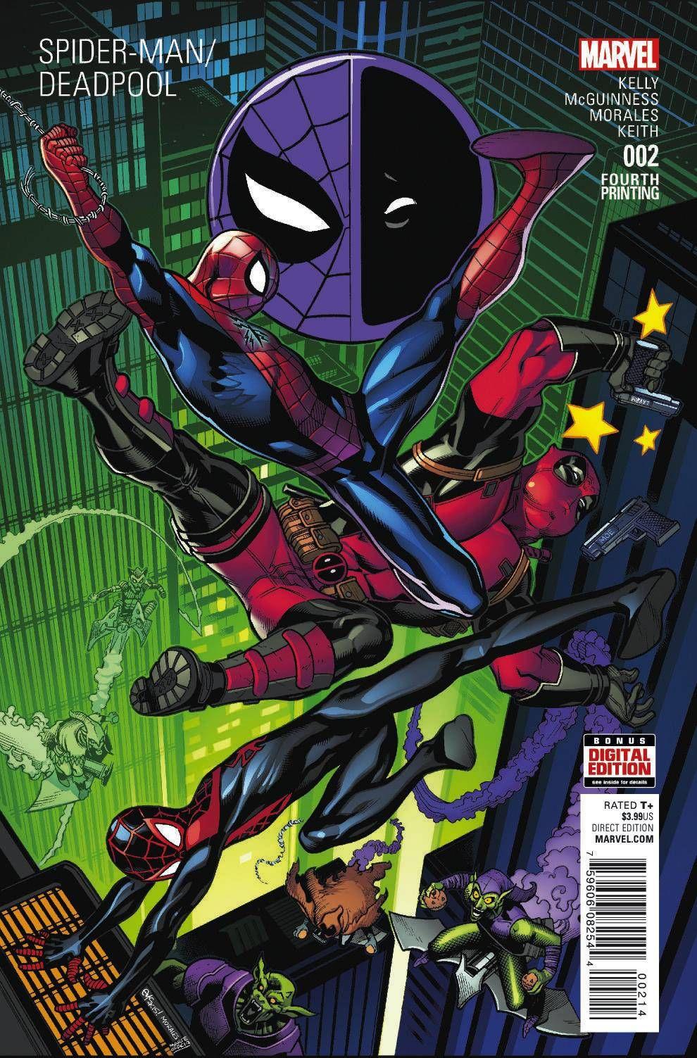 ComicsOdissey — SPIDER-MAN DEADPOOL #2 | Spidey | Pinterest | Cuatro ...