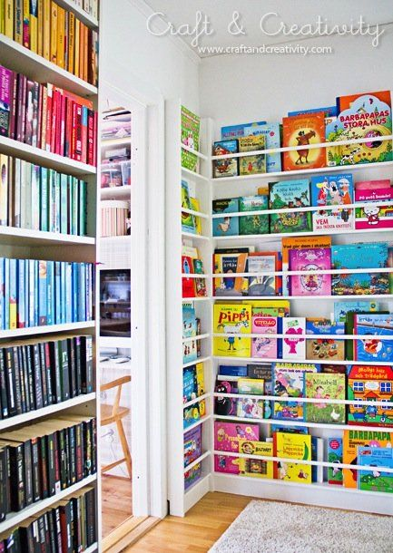 20 Beautiful Children's Book Displays. They say it's for children, but I found a few that can be great for adults too!