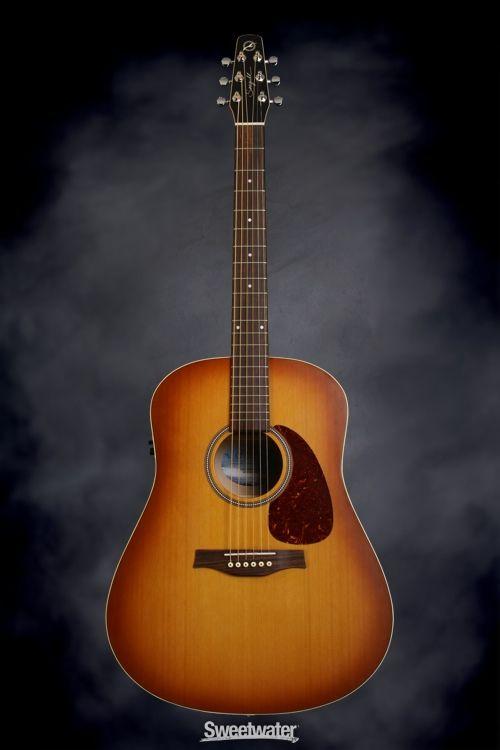 Seagull Guitars S6 Cedar Original Acoustic Guitar Natural Seagull Guitars Guitar Acoustic Electric Guitar