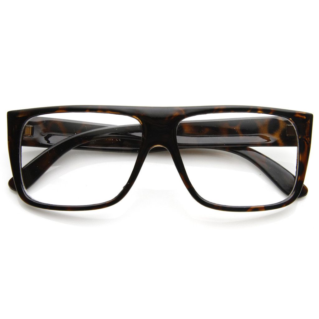 81cf8c4820 Flat Top Square Clear Lens Fashion Glasses 8807
