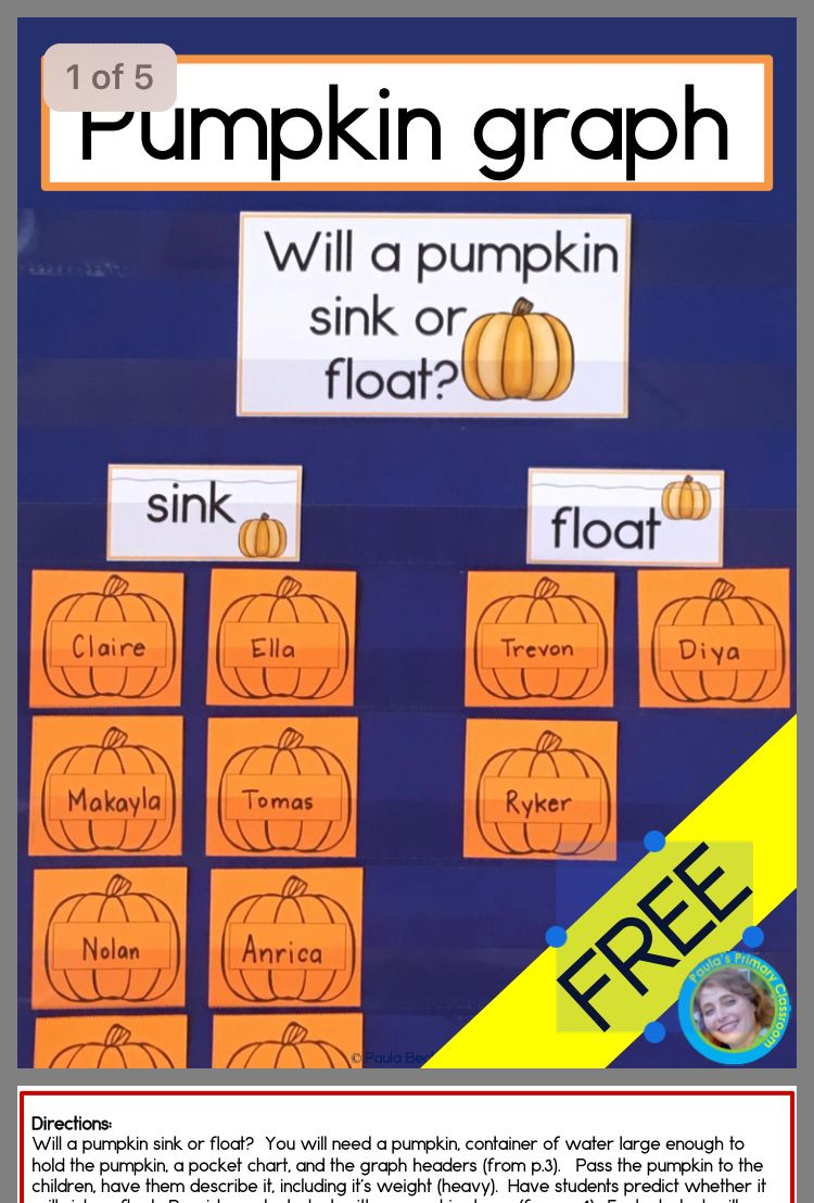 Pin by Kristen on Pumpkins Fall lesson plans, Fall