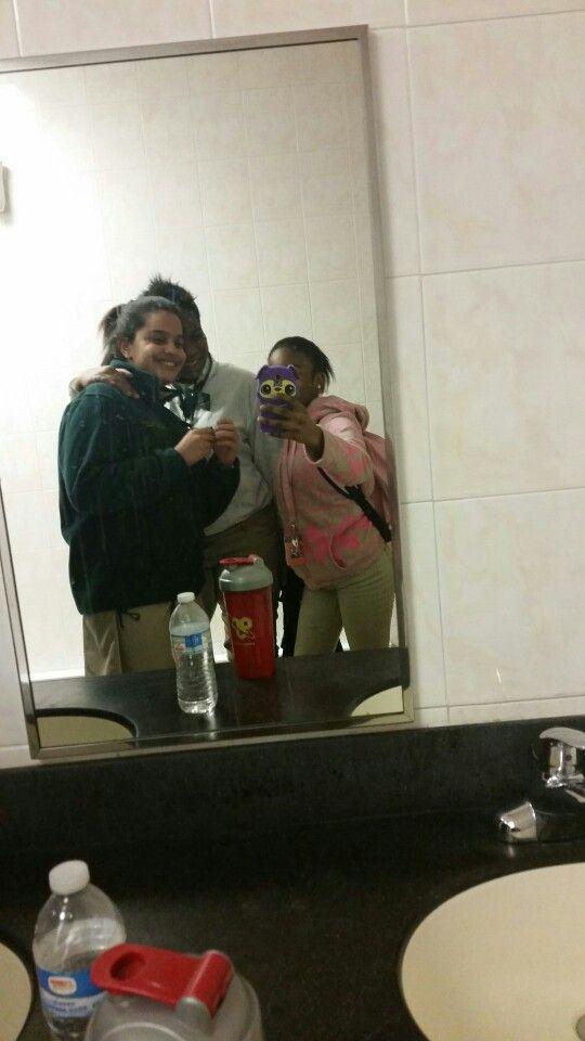 Just The Girls Taking Selfies In The Bathroom Girls Taking Selfies Taking Selfies Thats Not My