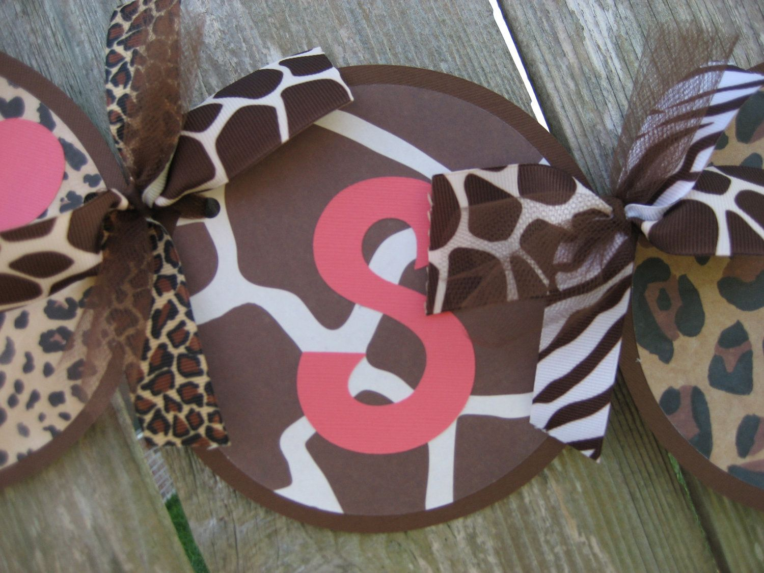 Animal Print Baby Shower Decorations   ITu0027S A GIRL Baby Shower Banner    Zebra Giraffe Leopard