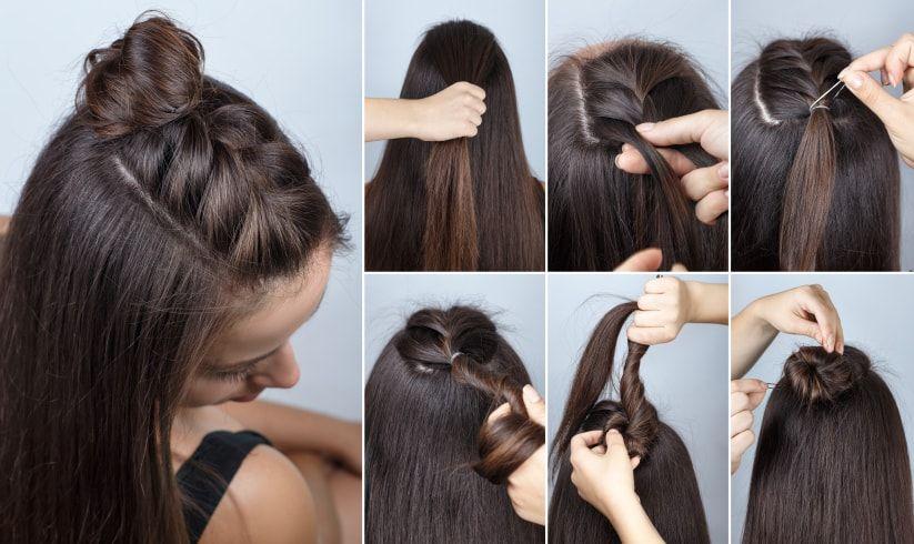peinados sencillos para boda paso a paso y adis al spray bodas - Peinados Sencillos