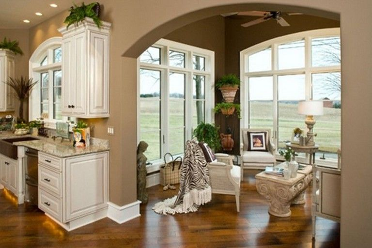 15 Exciting Keeping Room Off Kitchen Design Page 5 Of 19 Family Room Design Keeping Room Modern Kitchen Design