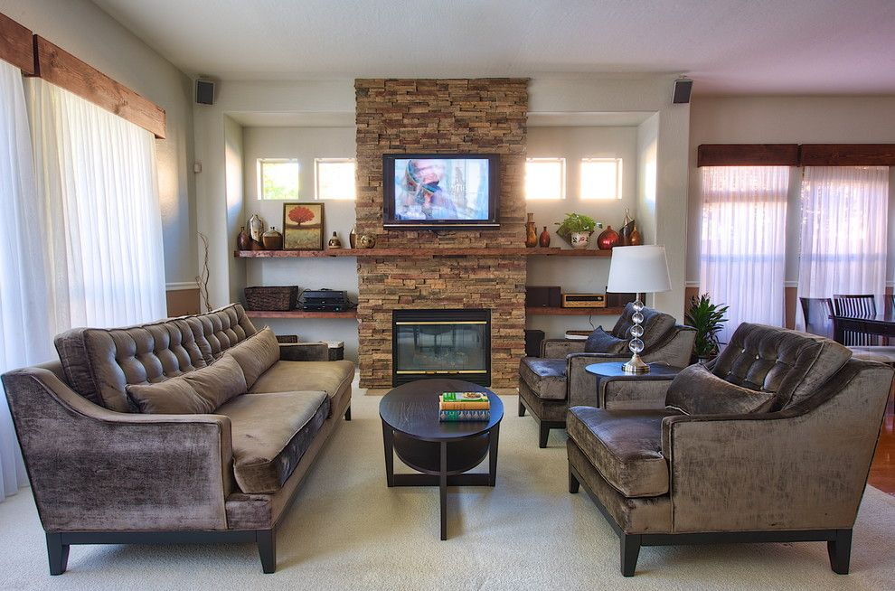 Living Room With Fireplace And Helves family room fireplace tv - google search | fireplace | pinterest