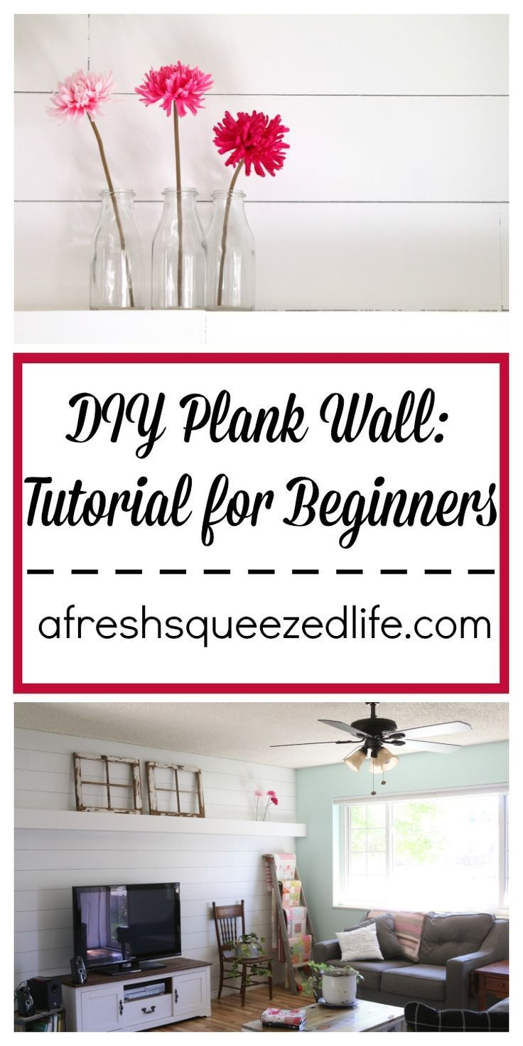 Are you wanting DIY plank wall in your home? Is shiplap calling your name? My…