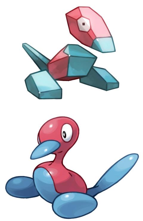 Porygon - Porygon2 #137 - #233 evolution | Pokemon ...