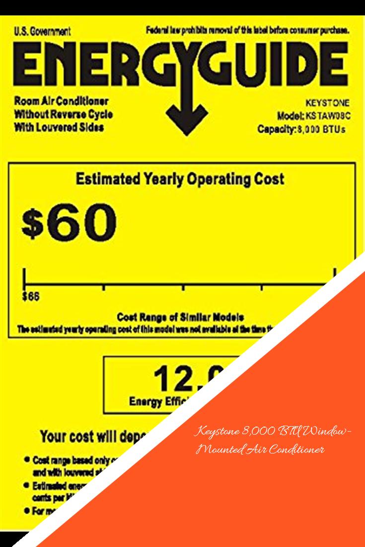 Keystone 8,000 BTU WindowMounted Air Conditioner Air