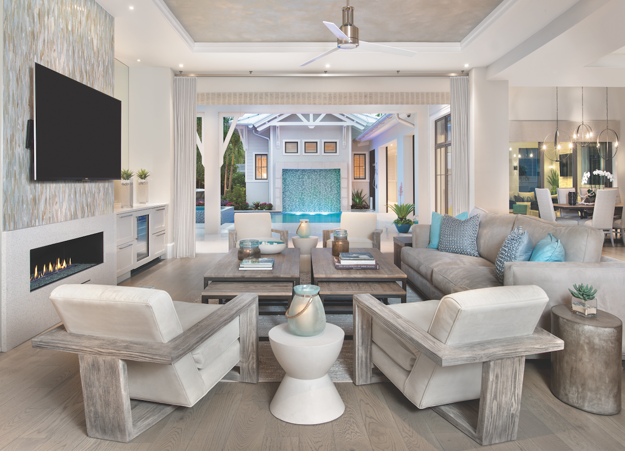 remarkable florida design living room ideas | Pin by Home & Design Magazine on Architecture & Design in ...